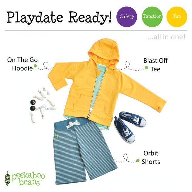 Bowling Bean | Peekaboo Beans - playwear for kids on the grow! www.peekaboobeans.com | #PBPlayfulPairings