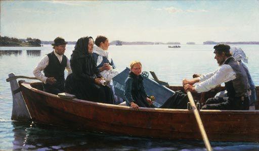 Albert Edelfelt (1854-1905) Finnish Painter