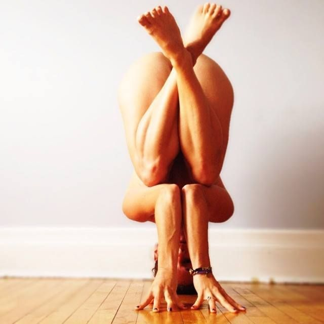 healthy lifestyle headstand variation #yoga