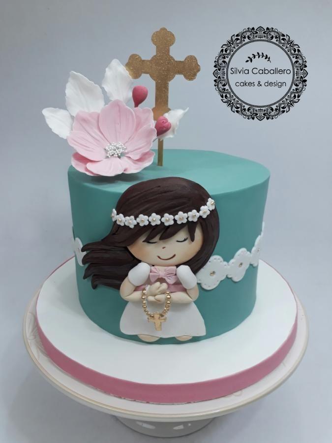 Communion cake by Silvia Caballero