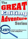 The Great Editing Adventure Volume 2 - Grammar School Book - Finally, a daily grammar review that kids love! Students read adventure stories while searching for errors in punctuation, spelling, synonyms and grammar. They learn, review and have fun all in one sitting. For home school, private schools and anyone involved in educating children! 4th-6th Grade Skills, 7th-8th Grade Review