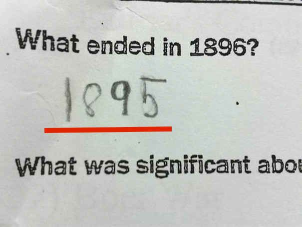 """Was endete 1896?"""