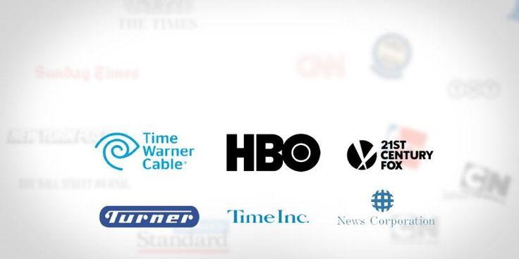 تشترك هذه الامبراطوريات الإعلامية في كونها تمارس كل أشكال النشاط الإعلامي بصور متفاوتة من صناعة السينما إلى صناعة التليفزيون وامتلاك شبكة قنوات تليفزيونية إلى امتلاك الجرائد والصحف والمواقع الإلكترونية وإنتاج ألعاب الفيديو وشركات التسويق الإعلامي...