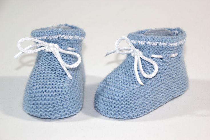 Principales 25 ideas incre bles sobre zapatitos de beb de - Como hacer calcetines de punto ...