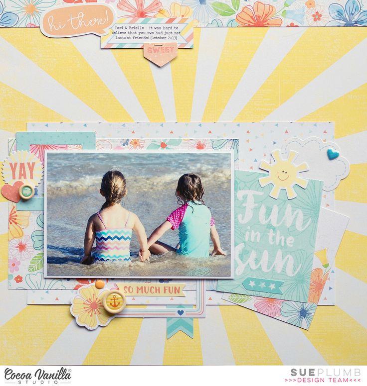 Fun+in+the+Sun - Cocoa Vanilla Studio the Hello Sunshine collection