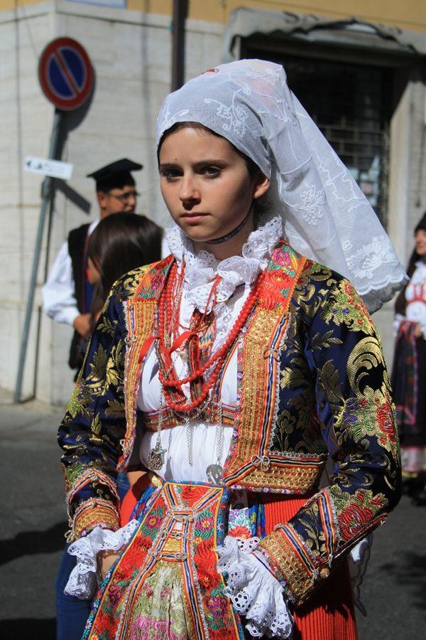 Sagra del Redentore.  Sardinia,Italy