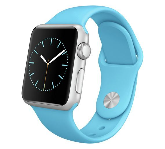 Buy Apple Watch 2015 Sport 38mm Silver Case with Royal Blue Band at Argos.co.uk - Your Online Shop for Smart watches, Mobile phones and accessories, Technology.