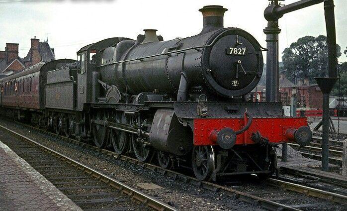 BR (GWR)  Manor class  4-6-0  No 7827 'Lytham Manor'