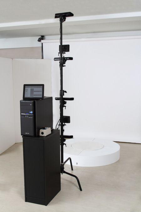 簡易 3D スキャニングシステム
