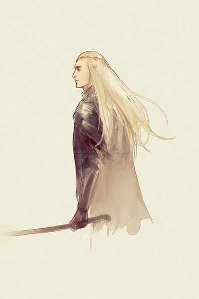 Thranduil. Anyone else think he should get his own movie? I want to see him in the past. When he tried fighting dragons, his younger days. Who did he help? Where did he fight?