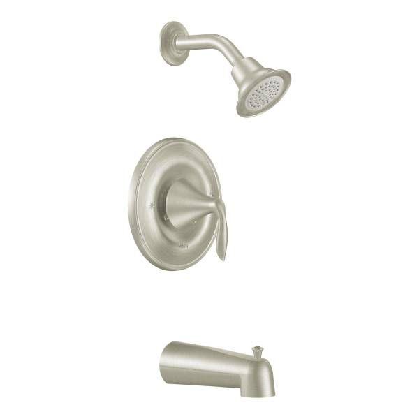 eva tubshower valve in brushed nickel - Shower Valves