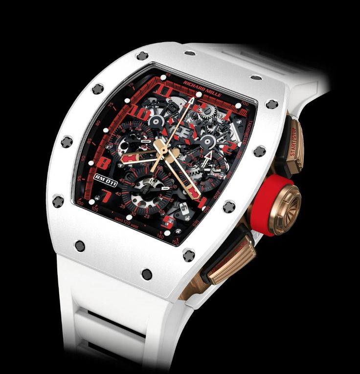 Richard Mille - RM-011 White Demon