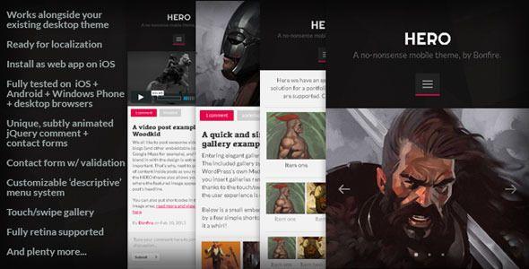 WordPress Mobile Themes & Templates - http://wordpress-themes.cc/wordpress-mobile-themes-templates/  Wordpress-Themes.cc