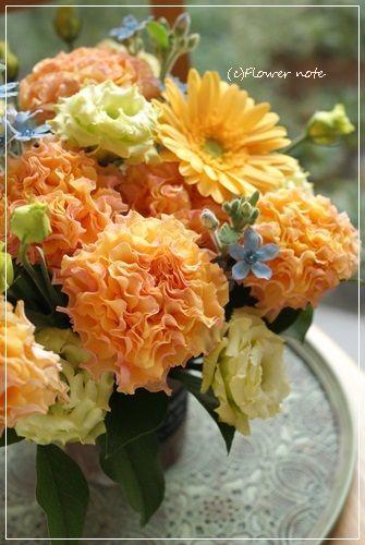 【今日の贈花】退職のお花は特別なバラで|Flower note の 花日記 (横浜・上大岡 アレンジメント教室)