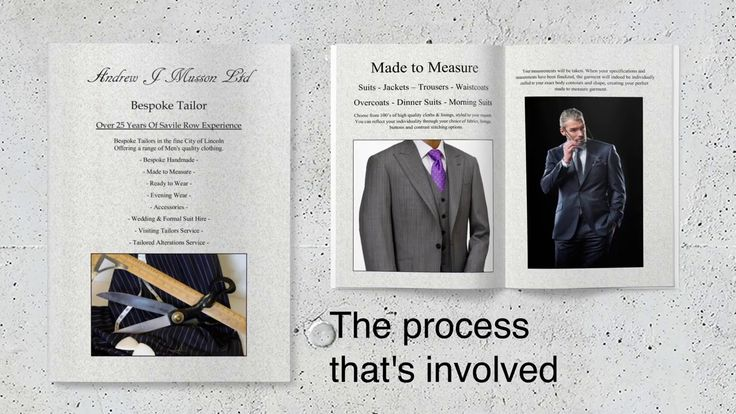 Promo video for our Made to Measure brochure