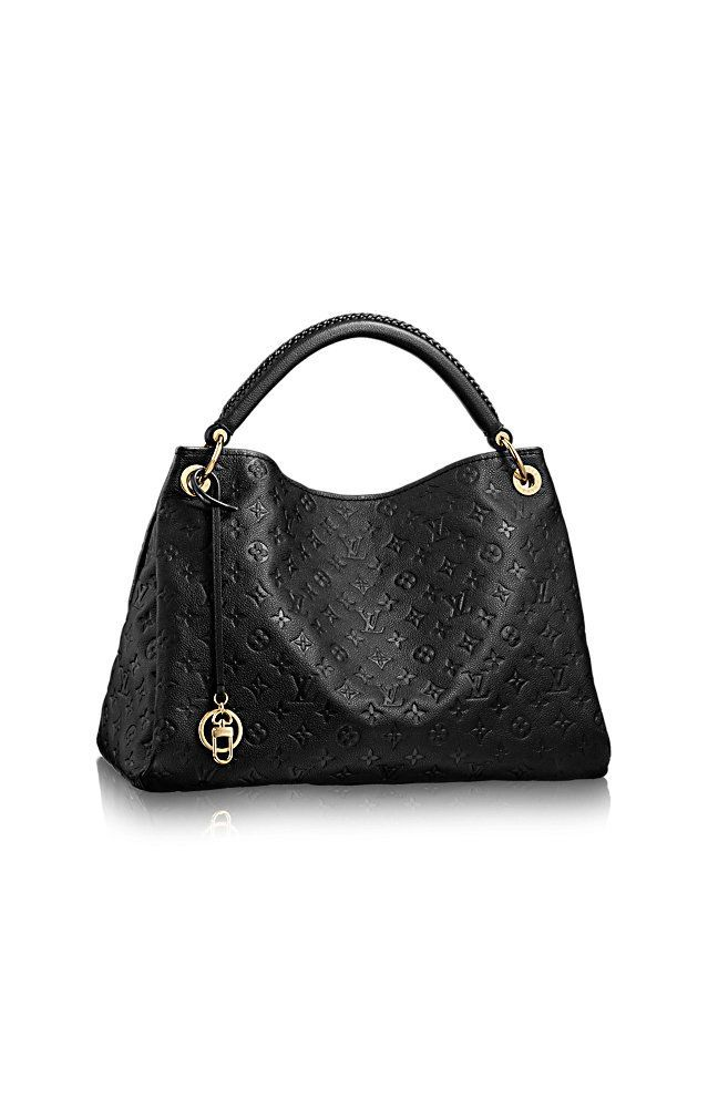 LOUIS VUITTON HANDBAG ARTSY MM BLACK