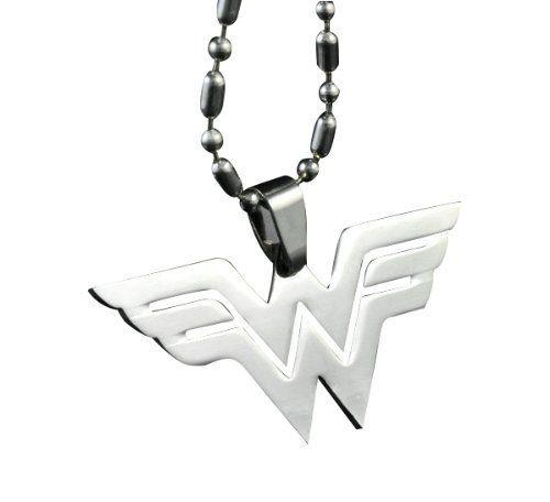 Wonder Woman Logo Chain Necklace