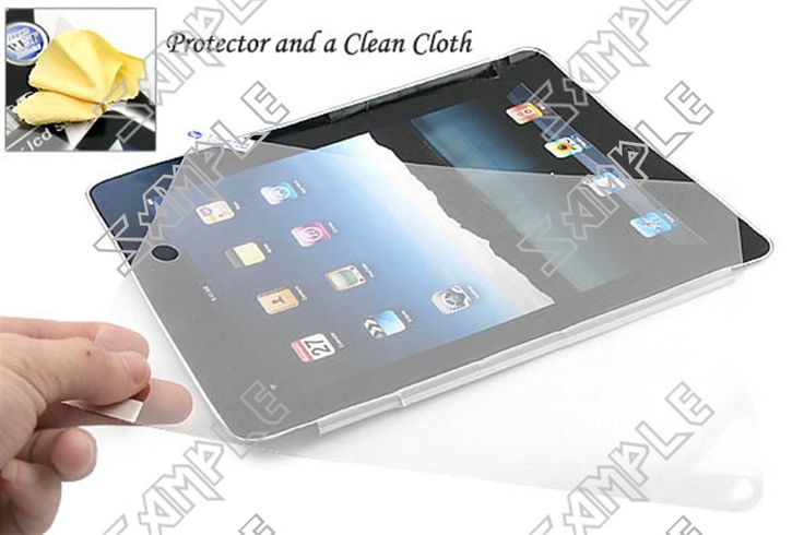 New Clear Antiglare Guard Film Protector Sheet for Apple iPad 3 the New iPad iPad 2 Tablet LCD Screen