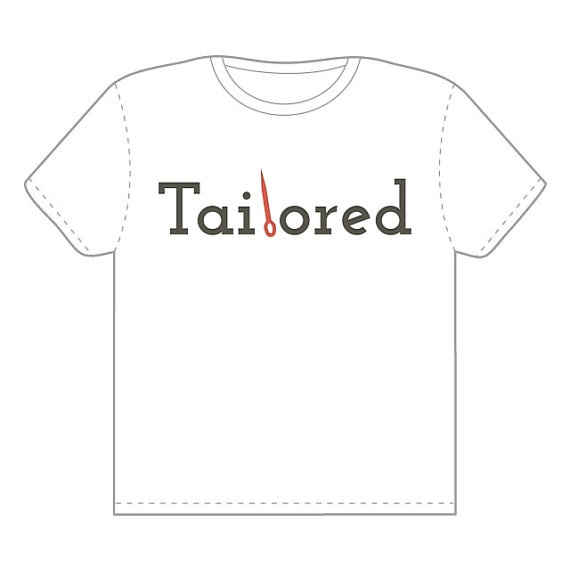 Tailored Logo Tshirt by Tailored on Etsy  $30.00