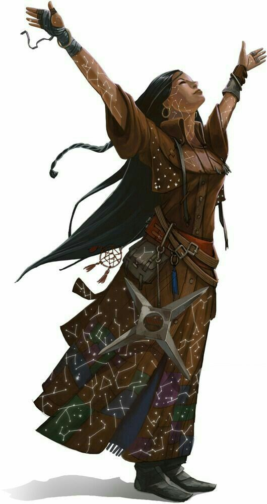 Female Cleric of Desna - Pathfinder PFRPG DND D&D d20 ...