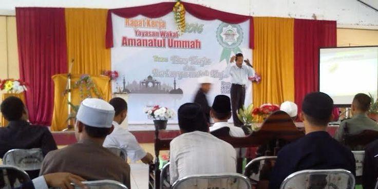 Yayasan Amanatul Ummah Berkhidmat untuk Muslim Poso Sejak Tahun 1998