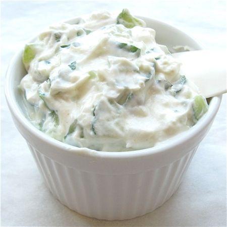 Tzatziki .... Yogurt and cucumber