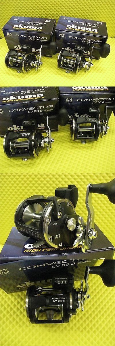 Other Fishing Reels 166159: Okuma Convector Cv 30D Line Counter Trolling Reels 2 Pack BUY IT NOW ONLY: $158.95