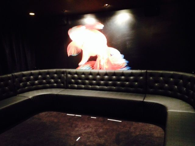 Curved booth seat Brisbane - Kwan Brothers bar/restaurant