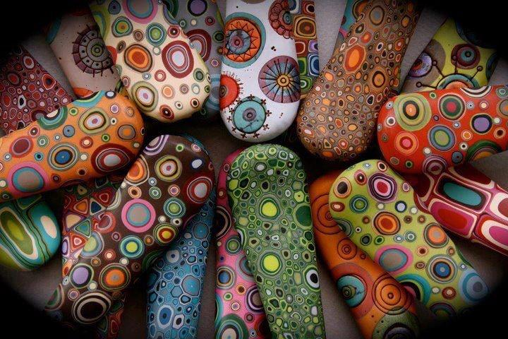 Pedras estampadas