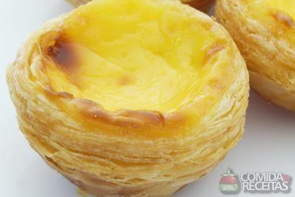 Receita de Pastel de belém - Comida e Receitas