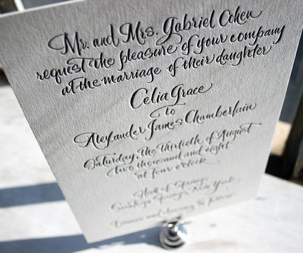 handwritten yang keren untuk kartu undangan pernikahan yang bisa kamu jadikan inspirasi