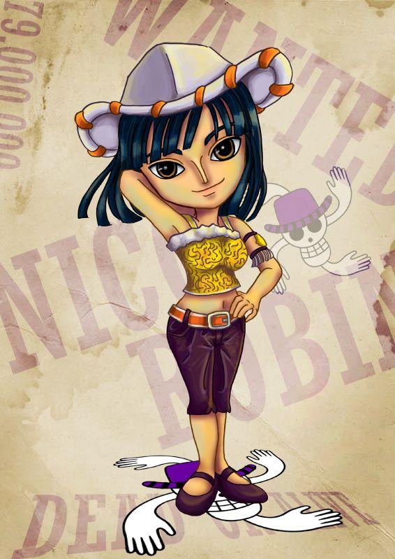 Nico Robin Fan Art Skypiea by yohat.deviantart.com on @deviantART #nicorobin #onepiece #skypiea