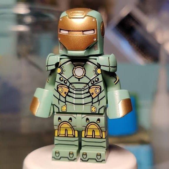 HYDRA CAPTAIN AMERICA Rare lego Minifigure MARVEL IRON MAN Villian