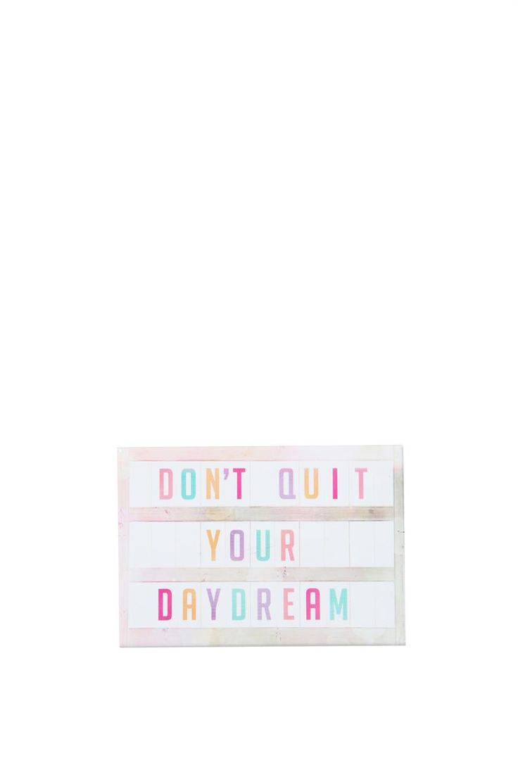 quirky magnets, DAYDREAM