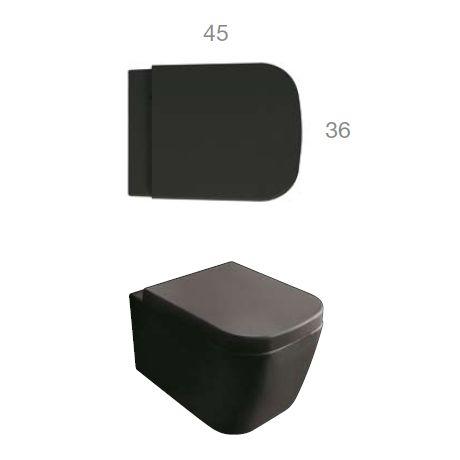 die besten 25 schwarze toilette ideen auf pinterest wc ideen moderne toilette und toiletten. Black Bedroom Furniture Sets. Home Design Ideas