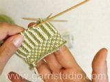 ... en flere hundrede år gammel svensk traditionel strikketeknik. Man bruger to tråde (selv om der kan strikkes med en farve). Strik hver m skiftevis med hver...