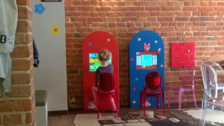 Kids corner in a cafe