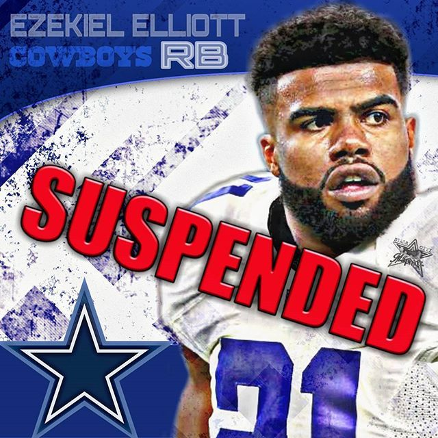 A judge denies @ezekielelliott request fir injunction, six-game suspension back in place.  This comes as disappointing news to the @dallascowboys and fantasy owners as #zeke has rushed for over 100yds in the previous three games. If the #suspension remains in place, Elliott will be ineligible to play until the #cowboys game against the #oaklandraiders on Dec. 17th.  #freezeke