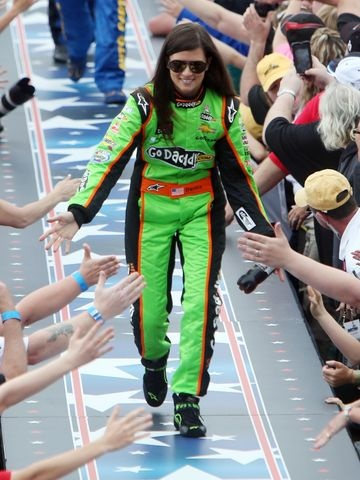 USA Today (2/24/12): Danica Patrick lives up to hype with spotlight bright
