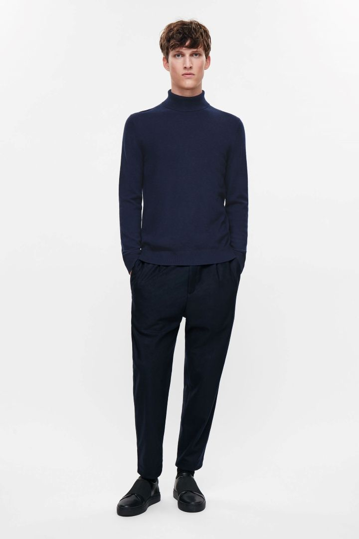 COS | High-neck yak-wool jumper