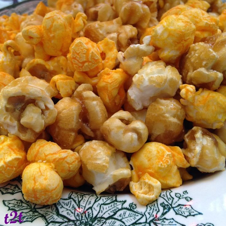 I MADE Turnips 2 Tangerines' Chicago-style Popcorn yesterday 04.16.16 but it didn't compare to Garrett's. I'll keep trying to perfect ir.