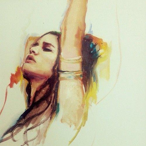 Charmaine Olivia Tumblr | Charmaine olivia painting sketch