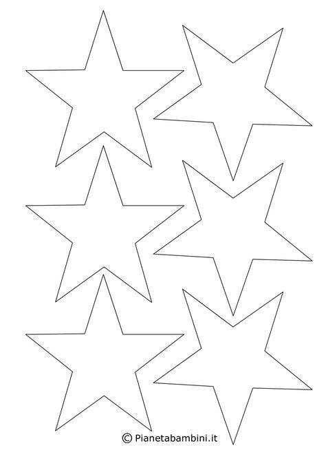 Disegni Di Stelle Di Natale Da Colorare.Disegni Di Stelle Da Stampare Colorare E Ritagliare Stampa Logos