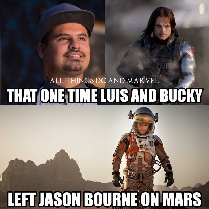 And then Bucky had a kid with the invisible woman <<< Wait, what?!