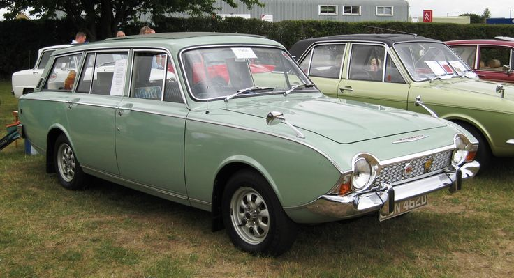 1966 Ford Corsair V4 estate wagon