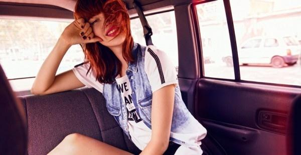 Lookbook BSK Junio, camisetas con mensajes para las más jovenes