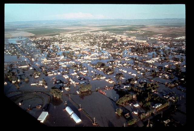 Teton Dam Flood - Rexburg, 1976