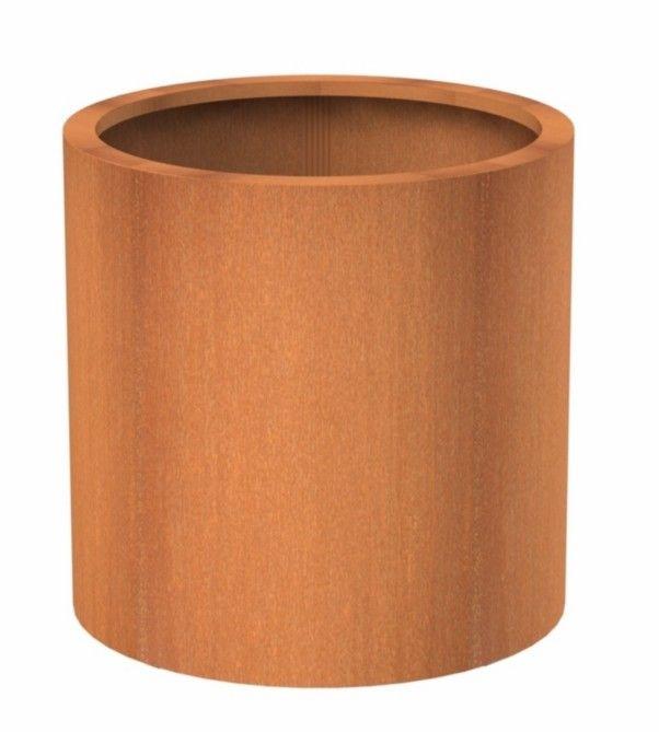 Corten Steel Column Planter By Adezz Bloembakken Grote 400 x 300