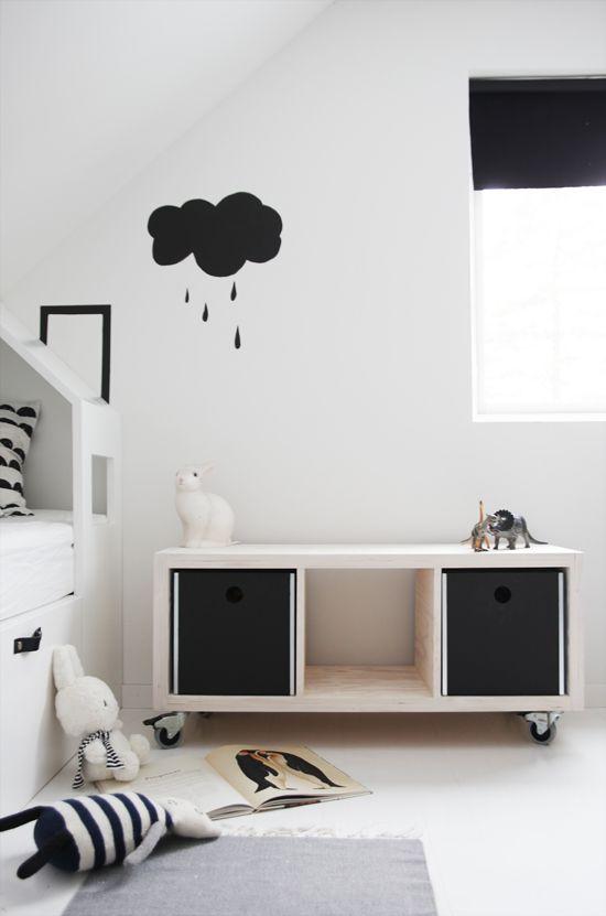 ideas kallax idea para la habitación niños