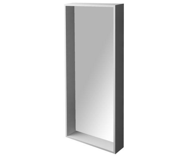 580mm Rectangular Shelf Edge Mirror